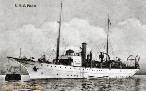 S.M.S. Planet, Vermessungsschiff