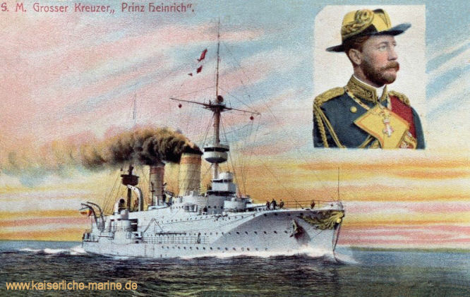 S.M.S. Prinz Heinrich, Großer Kreuzer