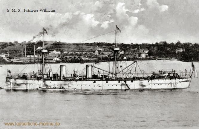 S.M.S. Prinzess Wilhelm, Kleiner Kreuzer