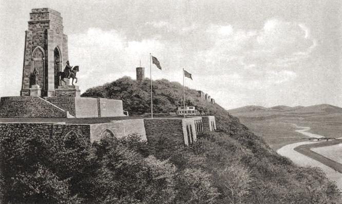 Hohensyburg, Kaiser-Wilhelm-Denkmal nach dem Umbau