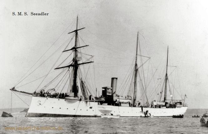 S.M.S. Seeadler, Kleiner Kreuzer