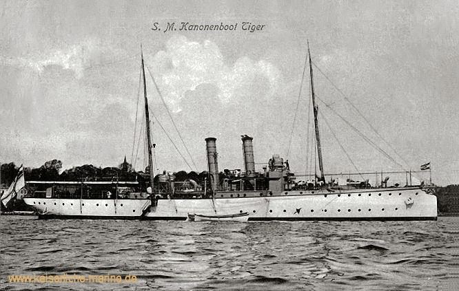 S.M.S. Tiger, Kanonenboot