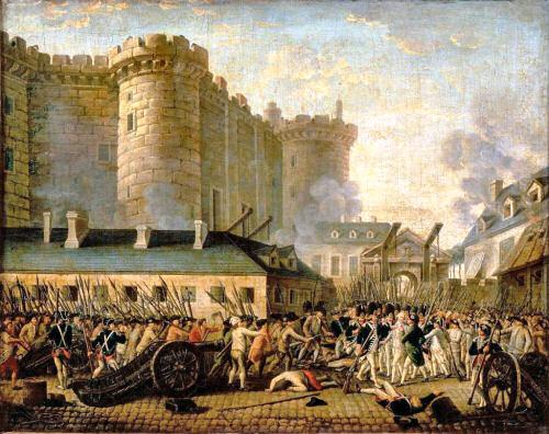Die Erstürmung der Bastille am 14. Juli 1789