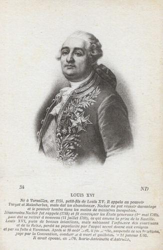 König Ludwig XVI. von Frankreich