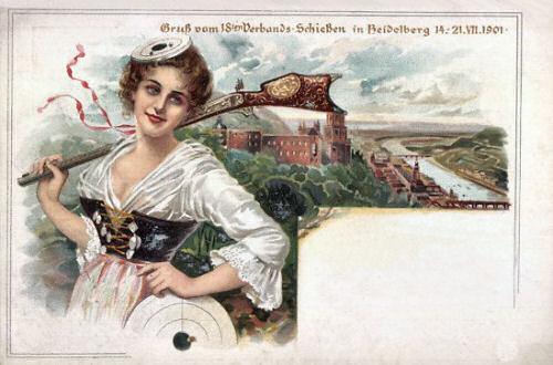 18. Verbands-Schießen in Heidelberg 14. -21- VII. 1901