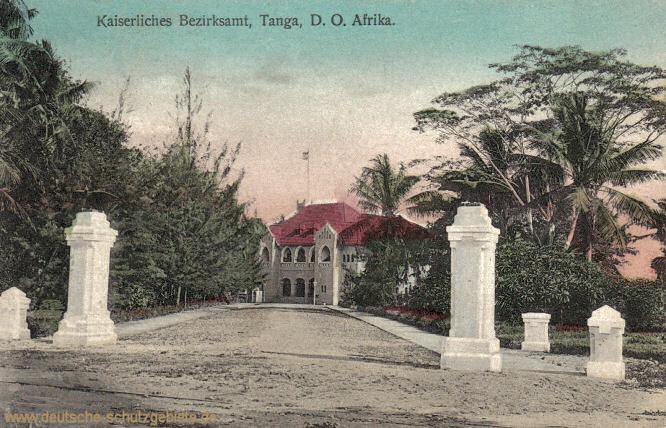 Deutsch-Ostafrika, Kaiserliches Bezirksamt Tanga