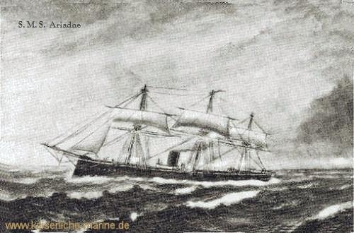 S.M.S. Ariadne, Korvette