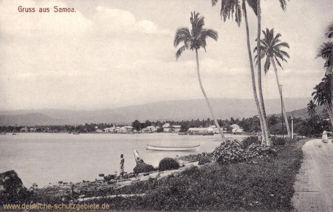 Gruss aus Samoa