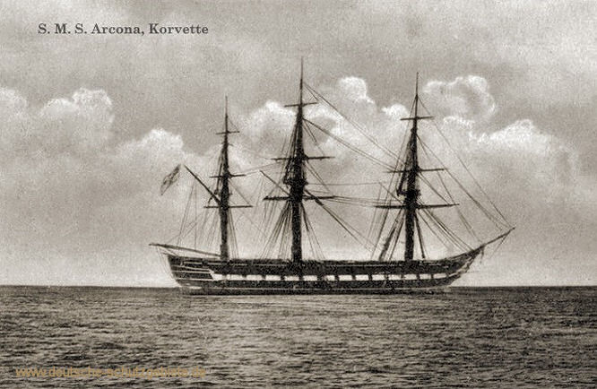 S.M.S. Arcona, Korvette