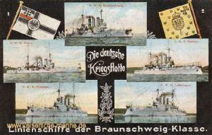 Linienschiffe der Braunschweig-Klasse