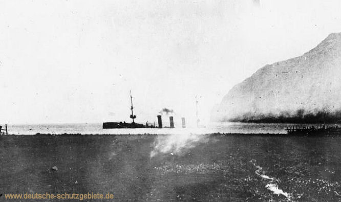 "Selbstversenkung der ""Dresden"" in Scapa Flow 1919"