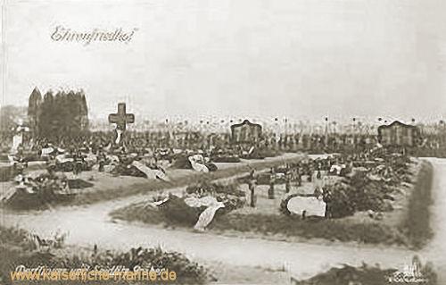 Ehrenfriedhof - Derfflinger und Seidlitz Gräber