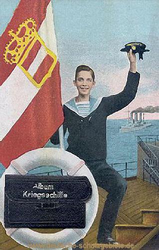 Kriegsflagge Österreich-Ungarn