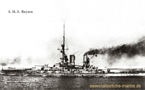 S.M.S. Bayern, Linienschiff