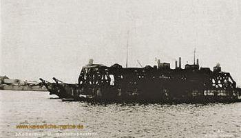 S.M.S. Cyclop, Dockschiff für U-Boote