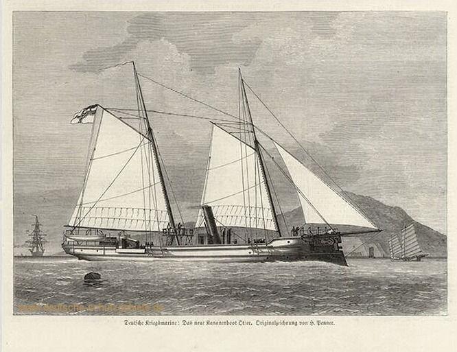 Das neue Kanonenboot Otter