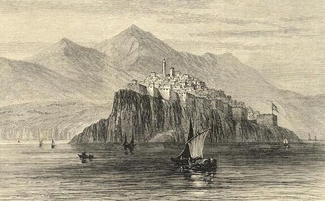 Dulcigno von der Nordseite