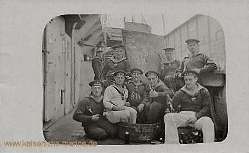 S.M.S. Hela, Besatzungsmitglieder