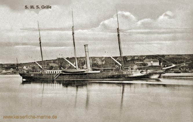S.M.S. Grille, Aviso