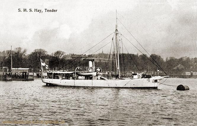 S.M.S. Hay, Tender