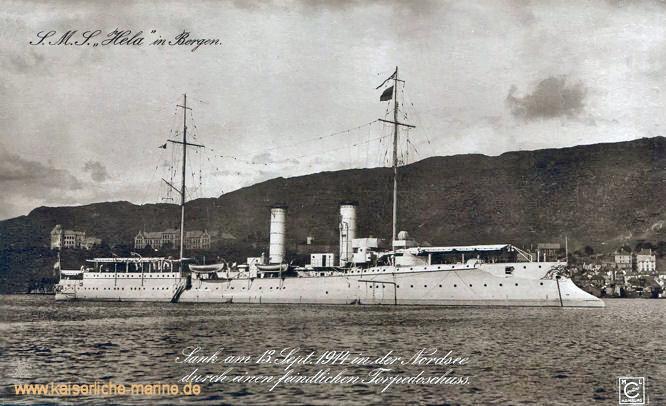 S.M.S. Hela in Bergen