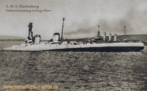 S.M.S. Hindenburg - Selbstversenkung in Scapa Flow