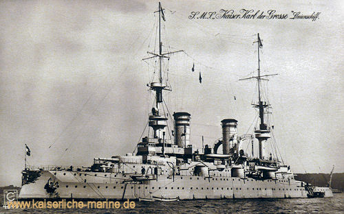 S.M.S. Kaiser Karl der Große, Linienschiff