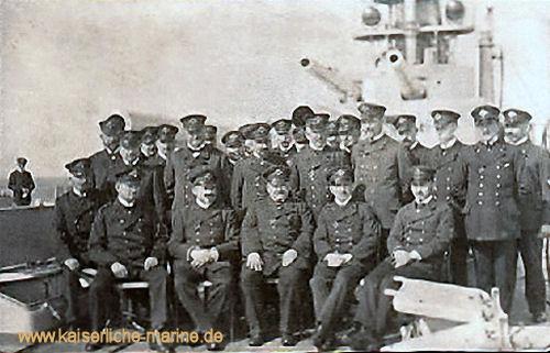 S.M.S. König Albert, Gruppenbild