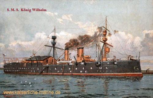 S.M.S. König Wilhelm, Schiffsjungenschulschiff