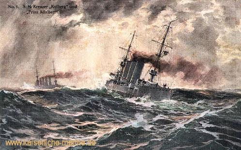 S.M.S. Kolberg und S.M.S. Prinz Adalbert