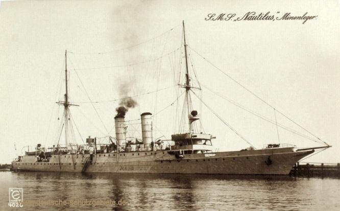 S.M.S. Nautilus, Minenleger