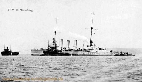 S.M.S. Nürnberg, Kleiner Kreuzer