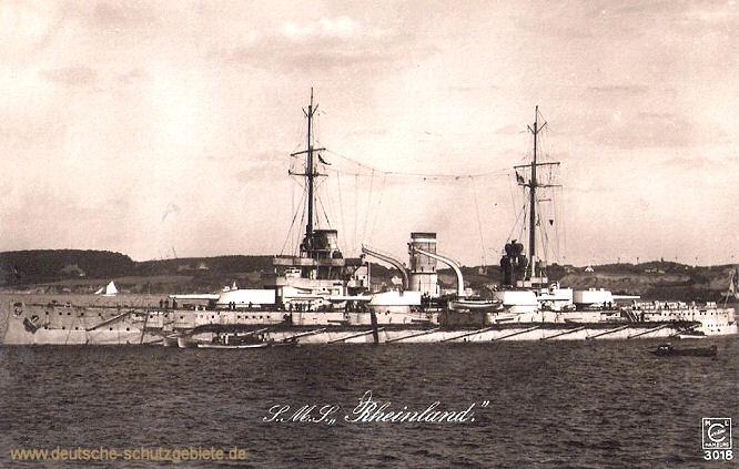 S.M.S. Rheinland, Linienschiff