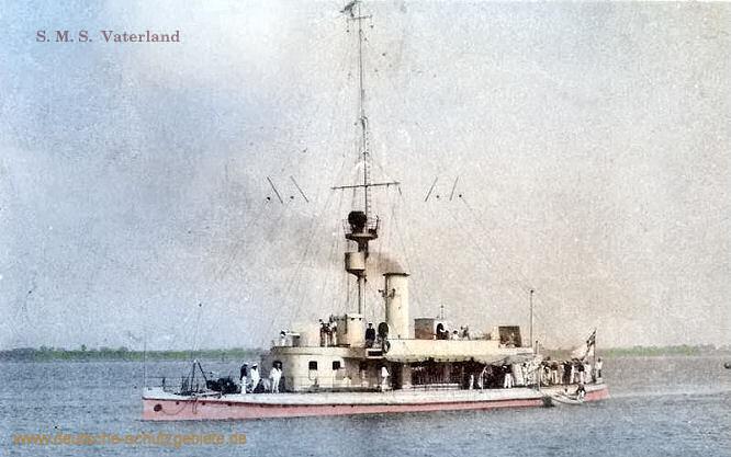 S.M.S. Vaterland, Flusskanonenboot