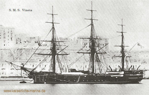 S.M.S. Vineta, Korvette