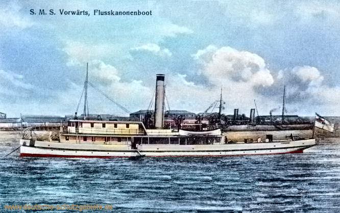 S.M.S. Vorwärts, Flusskanonenboot