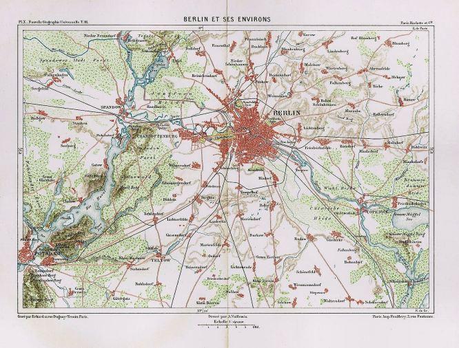 Berlin, Stadt und Umgebung 1884