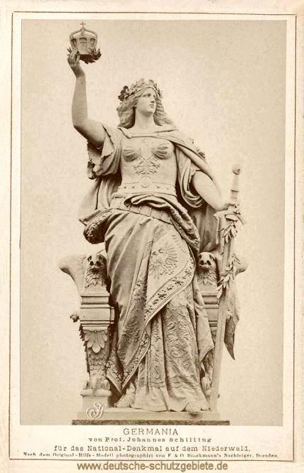 Germania für das National-Denkmal auf dem Niederwald