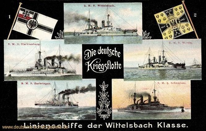 Linienschiffe der Wittelsbach Klasse