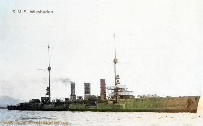 S.M.S. Wiesbaden, Kleiner Kreuzer 1917