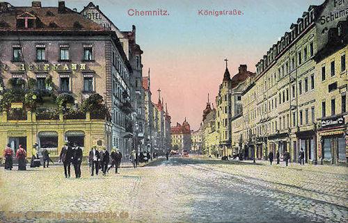 Chemnitz, Königstraße