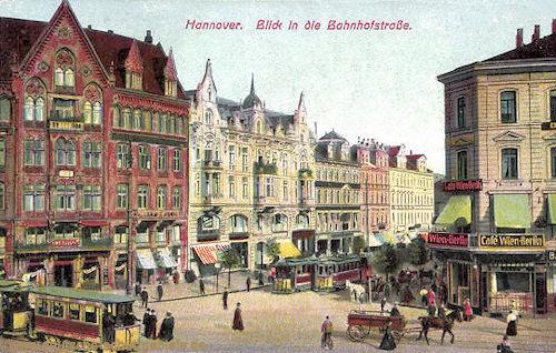 Hannover, Blick in die Bahnhofstraße