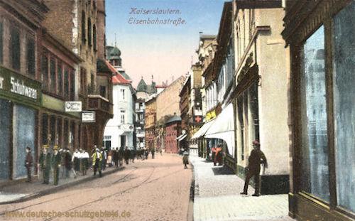 Kaiserslautern, Eisenbahnstraße