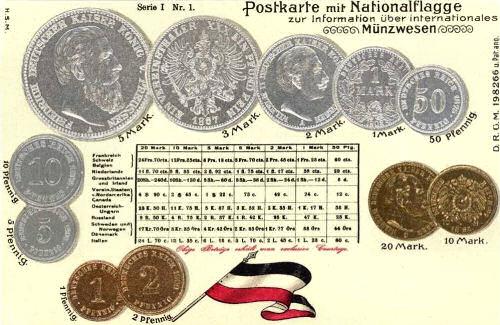 Münzwesen Deutsches Reich