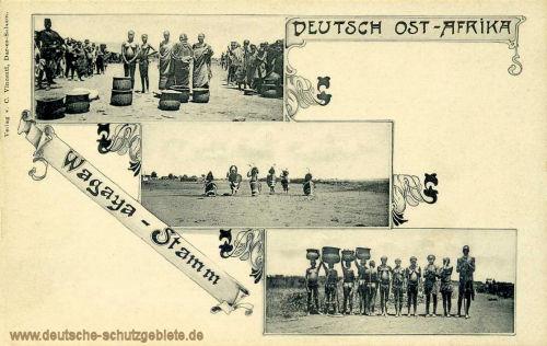 Deutsch Ost-Afrika, Wagaya-Stamm