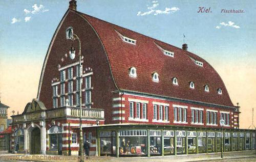 Kiel, Fischhalle