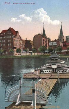 Kiel, Partie am kleinen Kiel