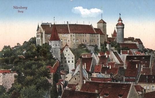 Nürnberg, Burg