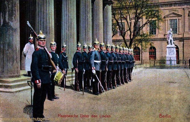 Berlin, Hauptwache, Unter den Linden