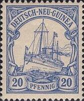Deutsch-Neu-Guinea Nr. 10, 20 Pfennig